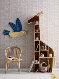 Bloomingville Boekenkast Giraf Bookcase Bankuan Grass - Nature