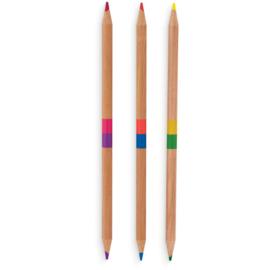 Ooly Potloden Dubbelzijdig 2 of a Kind - 24 kleuren