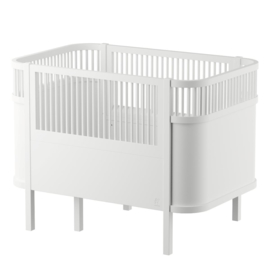 Sebra Kili Baby en Junior Bed - Wit