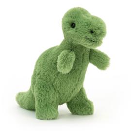 Jellycat Fossilly T-Rex Mini - Knuffel Dino (12 cm)