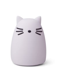 Liewood Winston Night Light Nachtlampje - Cat Light Lavender