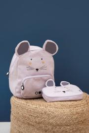 Trixie Pennenetui (rechthoek) Muis - Mrs Mouse
