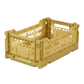 AyKasa Folding Crate Mini Box - Gold