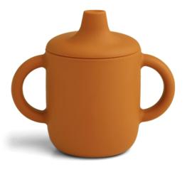 Liewood Anti-lek Beker Neil Cup - Mustard