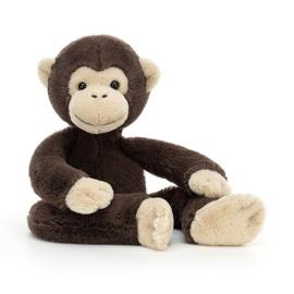 Jellycat Knuffel Aap Chimpansee - Pandy Chimpanzee (35 cm)