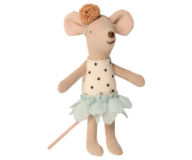 Maileg Little Miss Mouse in Suitcase - Little Sister (10 cm)