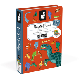Janod Magneetboek Magneti - Dinosaurus +3jr