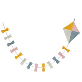Roommate Circus Vlieger Slinger Kite Flag Line - Multi Pastel