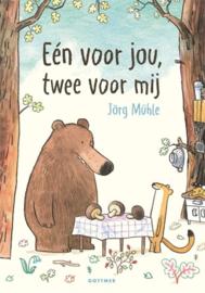 Uitgeverij Gottmer Een voor jou, Twee voor mij - Jörg Mühle +3jr