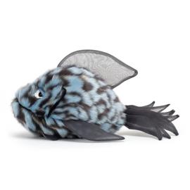 Jellycat Grumpy Fish Blue - Knuffel Vis (22 cm)