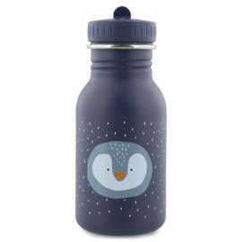 Trixie Drinkfles RVS Mr. Penguin - Paars (350 ml)