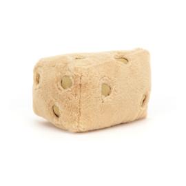 Jellycat Amuseable Knuffel Kaas Zwitserse Kaas - Swiss Cheese (16 cm)