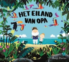 Uitgeverij L.S. Amsterdam Het Eiland van Opa - Benji Davies