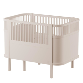 Sebra Kili Baby en Junior Bed - Birchbark Beige