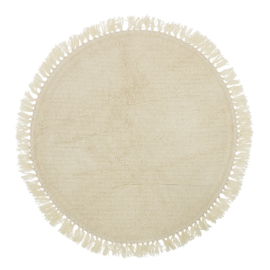 Bloomingville Vloerkleed Wol Nature - Creme