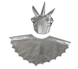By Astrup Stokpaard Harnas voor stokpaard - Zilver