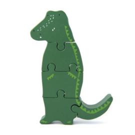 Trixie Houten Dieren Puzzel - Mr. Crocodile