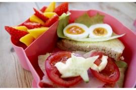 Blafre Lunchtrommel Uil - Licht Geel