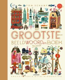 Uitgeverij Lannoo Het Grootste en leukste beeldwoordenboek ter wereld - Tom Schamp