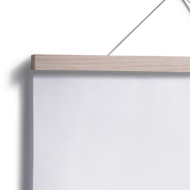 Side by Side Poster Hanger 21 cm A4 formaat - Eiken