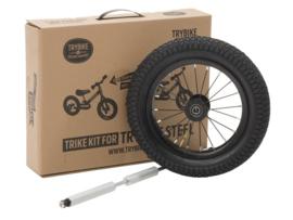 Trybike Steel Trike Set - Derde Wiel Extensie Set - Zwart