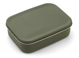 Liewood Lunchtrommel RVS Jimmy Lunchbox - Dino Hunter Green (Extra groot)