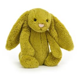 Jellycat Bashful Knuffel Konijn - Zingy Bunny Medium (31 cm)