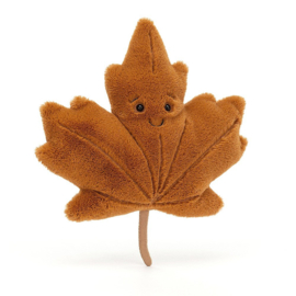 Jellycat Woodland Maple Leaf Little - Knuffel Esdoornblad (21 cm)