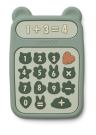 Liewood Bijtring Calculator Niels - Peppermint Multi Mix