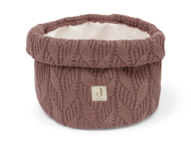 Jollein Commode Mandje Spring Knit - Chestnut