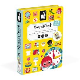 Janod Magneetboek - Klok Kijken