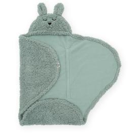 Jollein Wikkeldeken Bunny - Ash Green