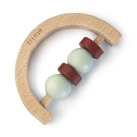 Trixie Houten Rammelaar Halve Cirkel - Mint Rust