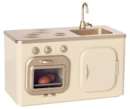 Maileg Mini Keuken Poppenhuis - Wit