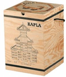 KAPLA Kist 280 Bouwplankjes - Blank Naturel