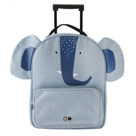 Trixie Reiskoffer Travel Trolley Mrs Elephant - Olifant