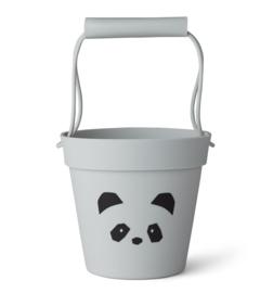 Liewood Linda Bucket Emmer - Panda Dumbo Grey