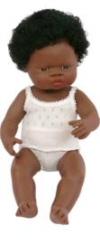 Miniland Babypop Afrikaans - Girl (38 cm)