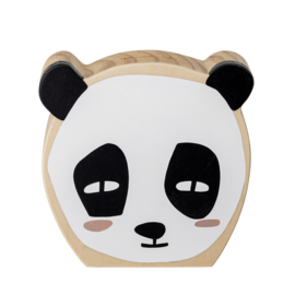 Bloomingville Spaarpot Panda Sonne Money Bank - Hout