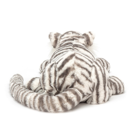 Jellycat Big Cats Sacha Snow Tiger - Knuffel Tijger Medium (29 cm)