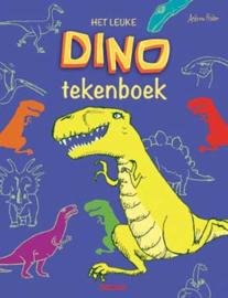 Uitgeverij Deltas Het leuke Dino Tekenboek - DIY