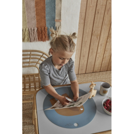 OYOY Kinderservies Set - Lion Bamboo Tableware Set