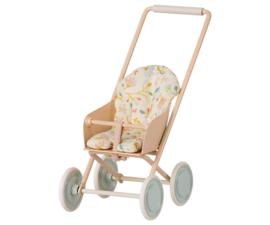 Maileg Buggy Stroller Micro - Powder (2021)