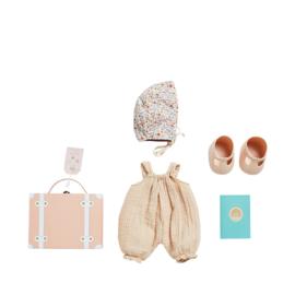 Olli Ella Dinkum Doll Travel Tog Set - Blush
