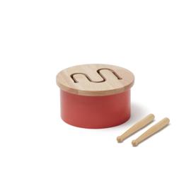 Kids Concept Houten Trommel Mini - Rood