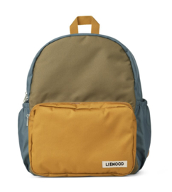 Liewood Rugzak James Backpack - Whale Blue Multi Mix