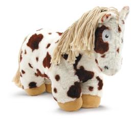 Crafty Pony Paarden Knuffel Bruin Bont (48 cm) incl. instructieboekje