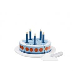 Kids Concept Houten Verjaardagstaart - Blauw