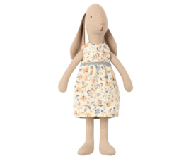 Maileg Bunny with Flower Dress - Size 2 (26 cm)