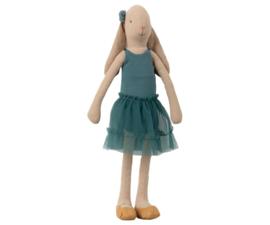 Maileg Bunny Ballerina Petrol - Size 3 (42 cm)